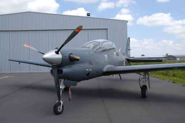 EMB 312 Tucano no AirExpo 2007