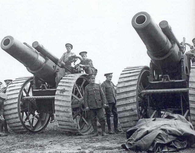 Artilharia WW1