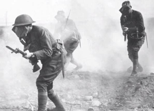 Gás mostarda - Primeira Guerra Mundial