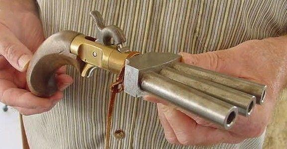 Uma Pistola pé de pato