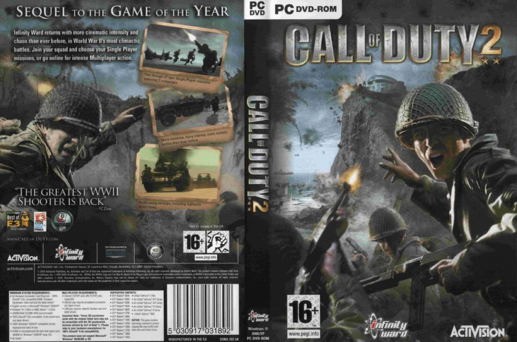 Call of Duty 2 capa