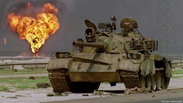 T-54/T-55 - Guerra do golfo