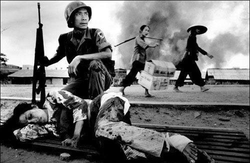 As vítimas inocentes da guerra.