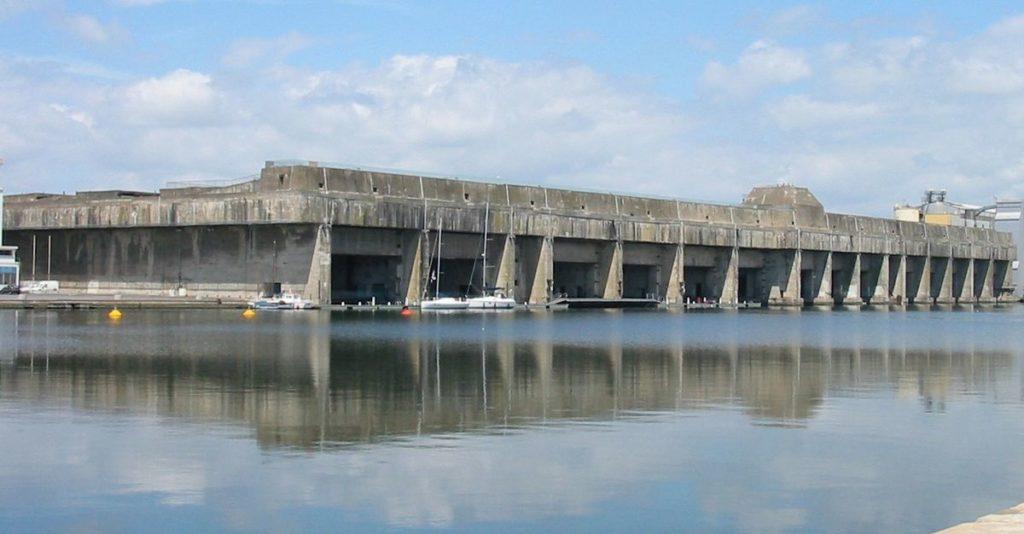 Base de submarino de Saint Nazaire, França