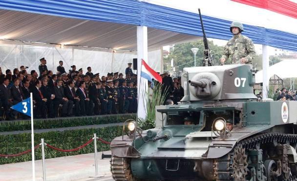 M3 Stuart utilizado pelo Paraguai - Fatos Militares