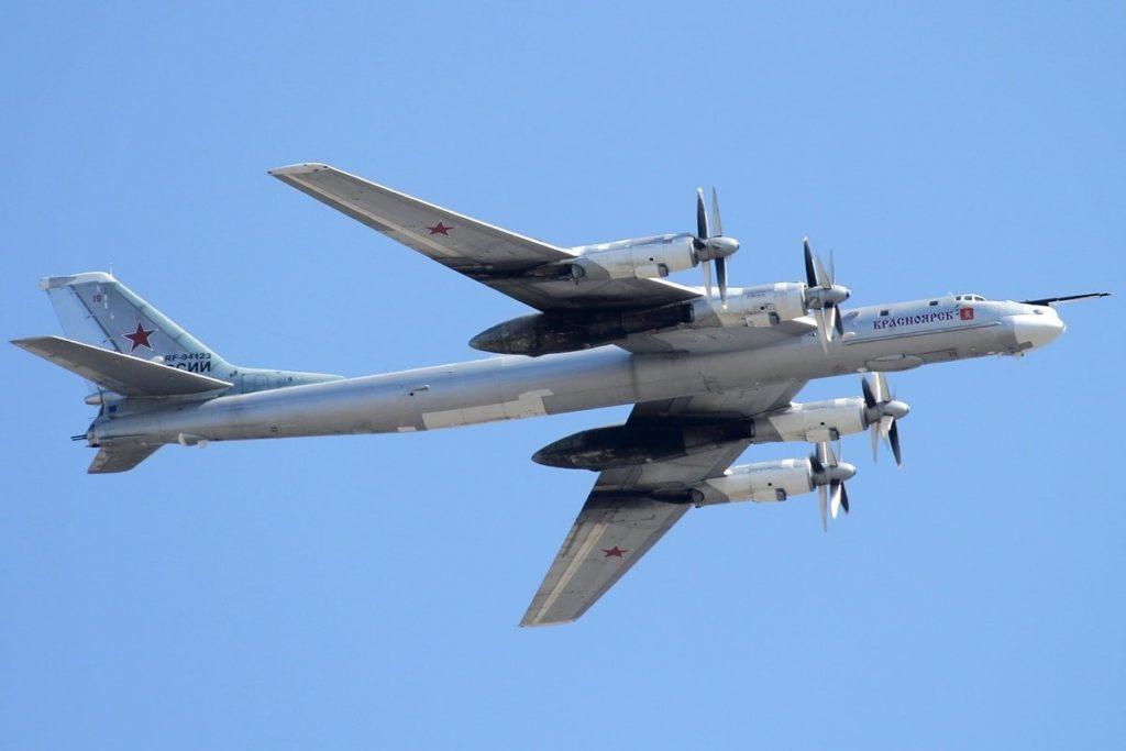 Tupolev Tu-95 da Força aérea russa. - Fatos Militares