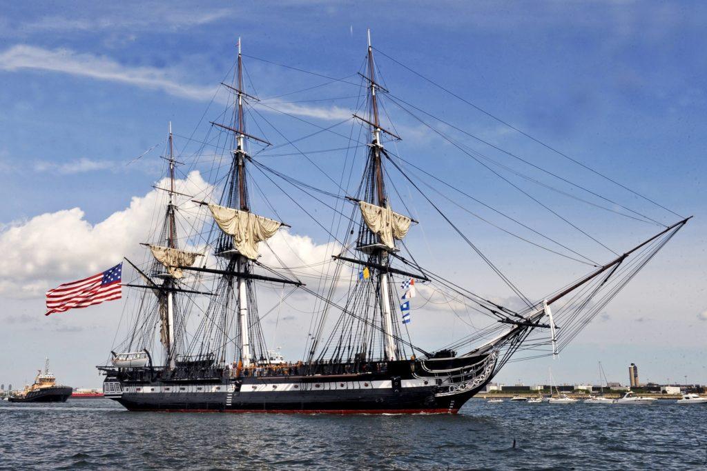 USS Constitution o navio militar mais antigo do mundo em operação. - Fatos Militares