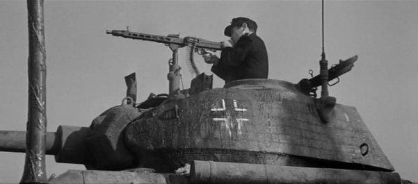 MG 42 em um tanque alemão