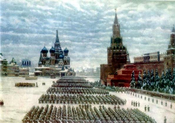 Parada na Praça Vermelha (07 Novembro 1941)