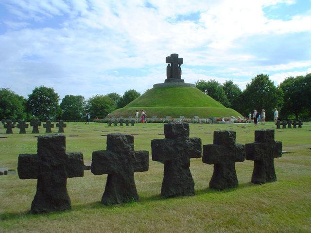cemitério alemão em La Cambe