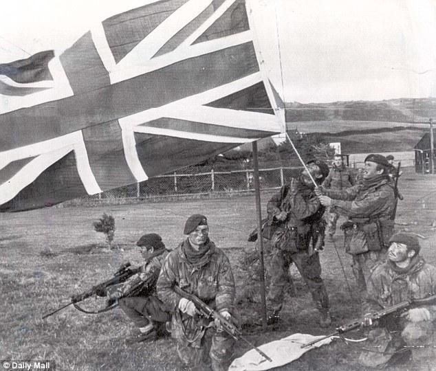 FN FAL utilizado pelos Ingleses na Guerra das Malvinas