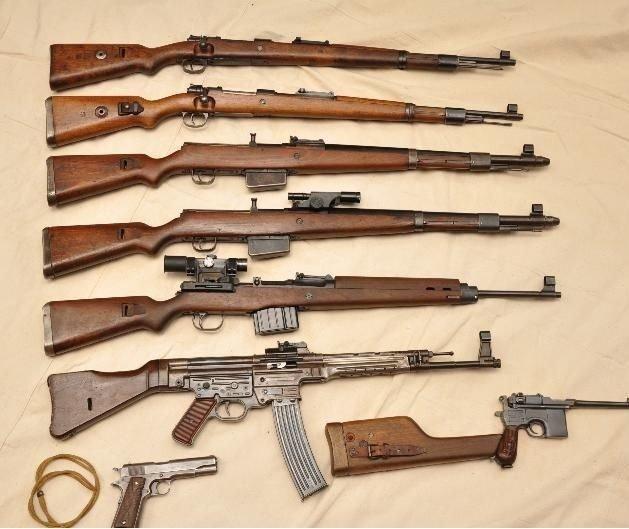 Armas utilizadas na Segunda Guerra Mundial