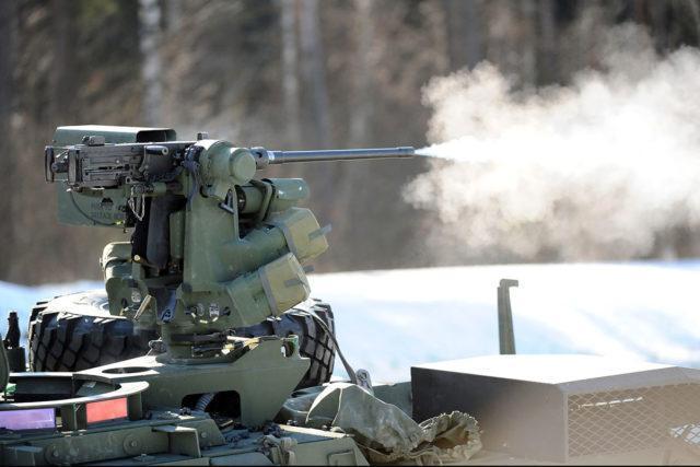 M2HB em reparo automatizado.