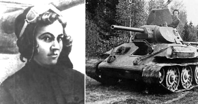 Mariya Oktyabrskaya - Namorada de Batalha