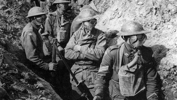 Soldados em uma Trincheira -primeira guerra mundial