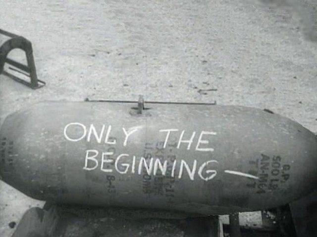 """""""Apenas o começo"""" - Ataque Doolittle"""