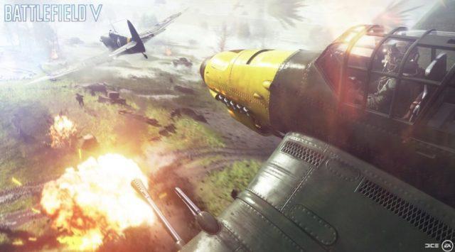 Batalhas Aéreas no Battlefield V
