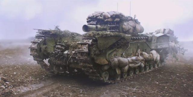 Churchill Crocodile - Battlefield V