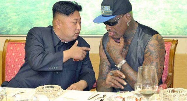 Kim Jong-un e Dennis Rodman