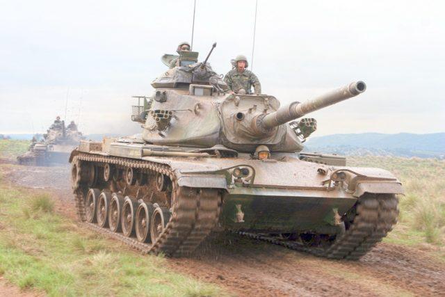 M-60 A3 TTS do Exército Brasileiro