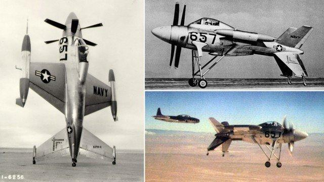 11-Lockheed-XFV-The-Salmon-an-experimental-tailsitter-prototype-escort-fighter-aircraft-1953-640x360