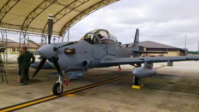 A-29 Super Tucano ao Afeganistão