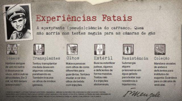 Experiências Fatais de Josef Mengele