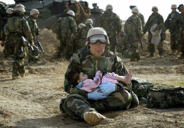 10 Imagens que vão restaurar a sua fé na humanidade mesmo em tempos de Guerra
