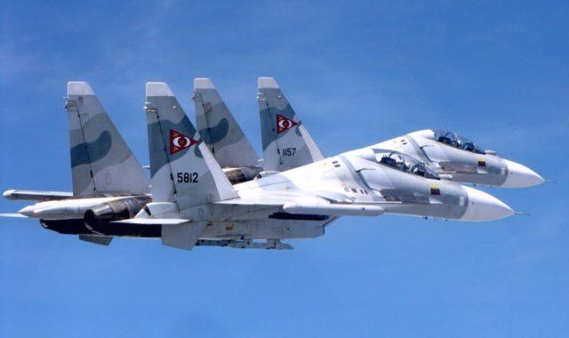 Como seria uma batalha aérea entre brasil x venezuela ?