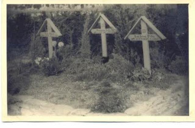 Os túmulos dos três heróis Brasileiros