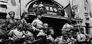 """A Ofensiva Estratégica na Manchúria, também conhecida como Operação da Manchúria ou """"Batalha da Manchúria"""", foi parte da """"Guerra Nipo-Soviética"""" de 1945."""