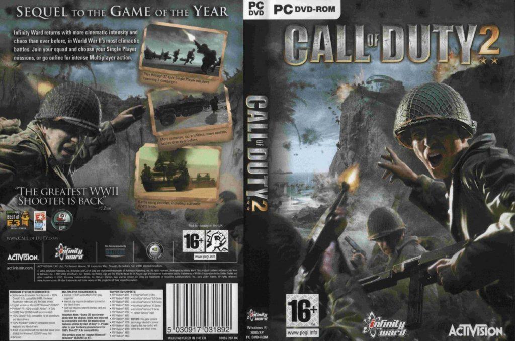 Call of Duty 2 capa
