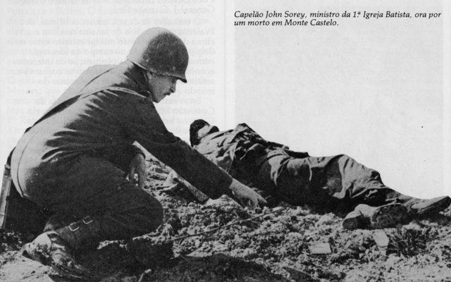 Conheçam os dezessete pracinhas que morreram com o dedo no gatilho, nos arredores de Abetaia, após a batalha de Monte Castelo, em dezembro de 1944.