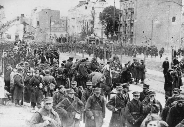A batalha de Varsóvia em 1939