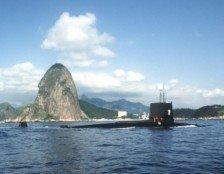 USS Snook no rio de janeiro