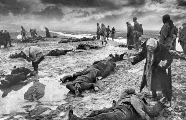 Apenas 20% dos homens que nascera na União Soviética em 1923 sobreviveram a Segunda Guerra Mundial.