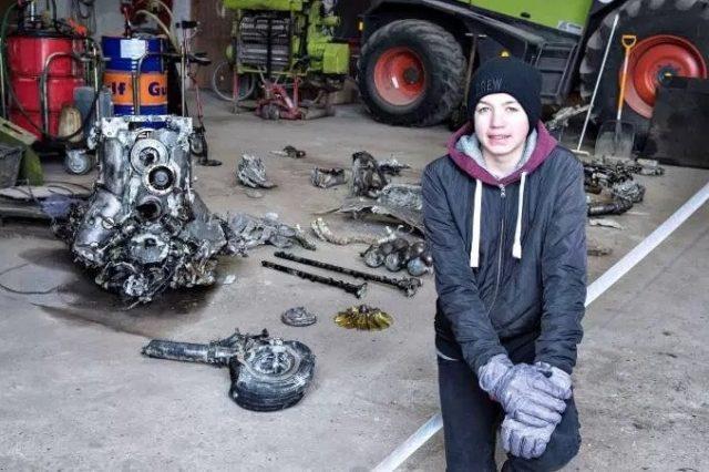 Jovem de 14 anos encontra avião da Segunda Guerra Mundial