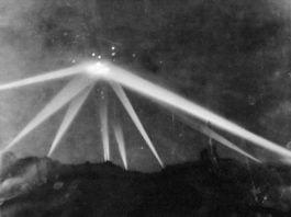 Foto tirado durante a Batalha de Los Angeles