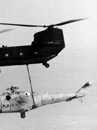 Operation Mount Hope III- O dia em que os americanos roubaram um Mi-24 soviético
