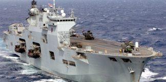 HMS Ocean no Brasil - Fatos Militares