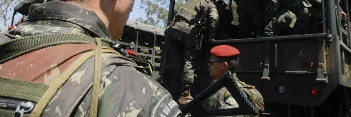 forças armadas no Rio de janeiro - Fatos Militares