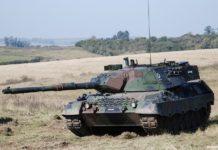 Leopard 1a5 do exército Brasileiro