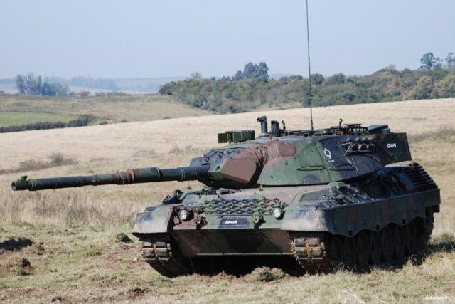 Carros de combate: Leopard 1a5 do exército Brasileiro