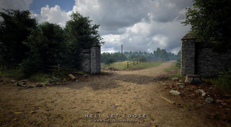 Entrada de uma vila - Hell Let Loose