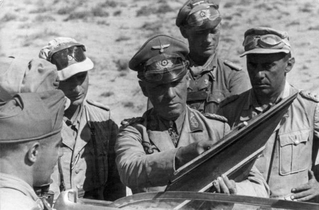 Erwin Rommel na Afrika Korps