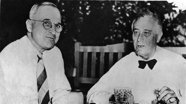 Franklin Roosevelt e Harry Truman