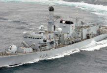 HMS Argyll uma fragata Type 23.