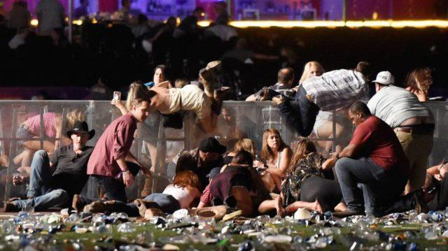 Imagens do Tiroteio em Las Vegas