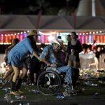 Pessoas fugindo do atentado em Las vegas