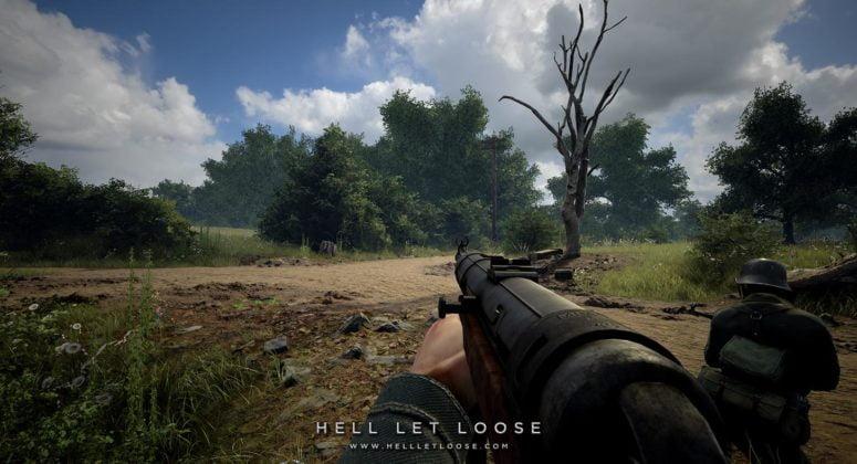 Soldados alemães parados -Hell Let Loose